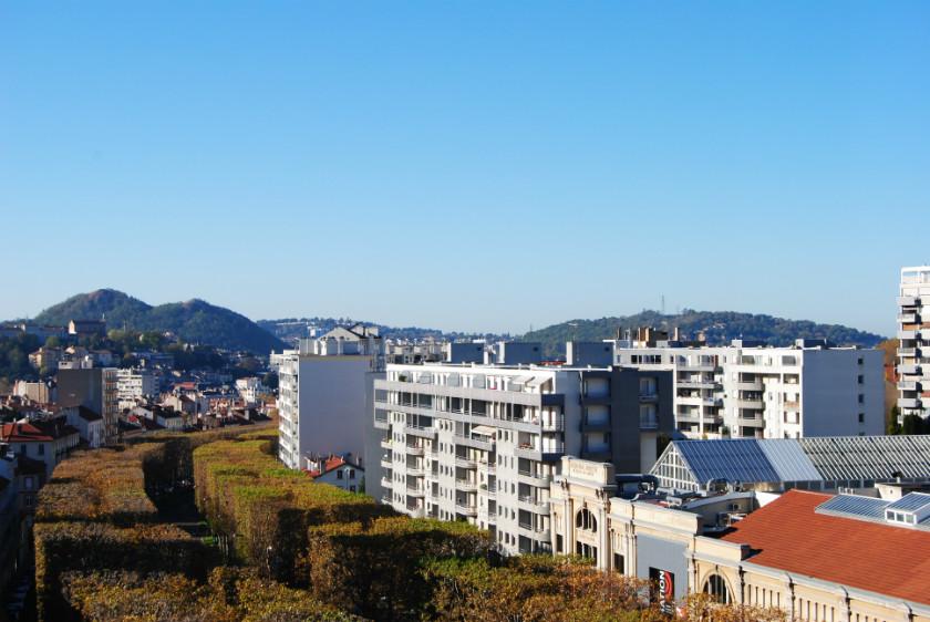 Vue de la Location meublée St-Etienne